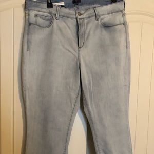 NYDJ cuffed boyfriend jeans